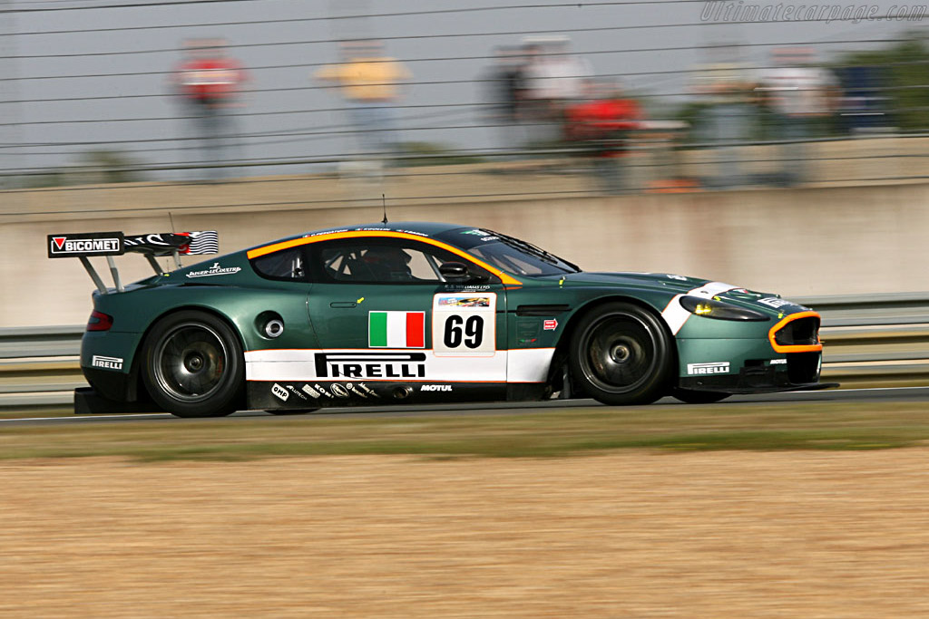 Aston Martin DBR9 - Chassis: DBR9/9 - Entrant: BMS Scuderia Italia  - 2006 24 Hours of Le Mans Preview