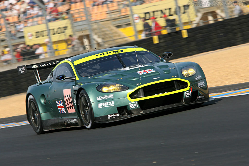 Aston Martin DBR9 - Chassis: DBR9/2 - Entrant: Aston Martin Racing  - 2006 24 Hours of Le Mans Preview