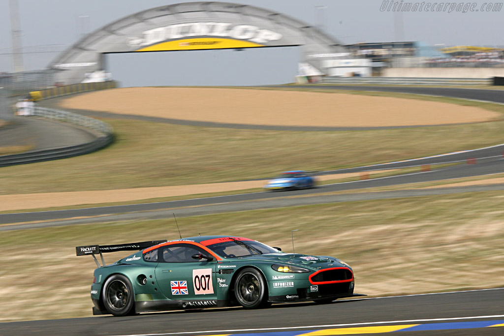 Aston Martin DBR9 - Chassis: DBR9/3 - Entrant: Aston Martin Racing  - 2006 24 Hours of Le Mans Preview