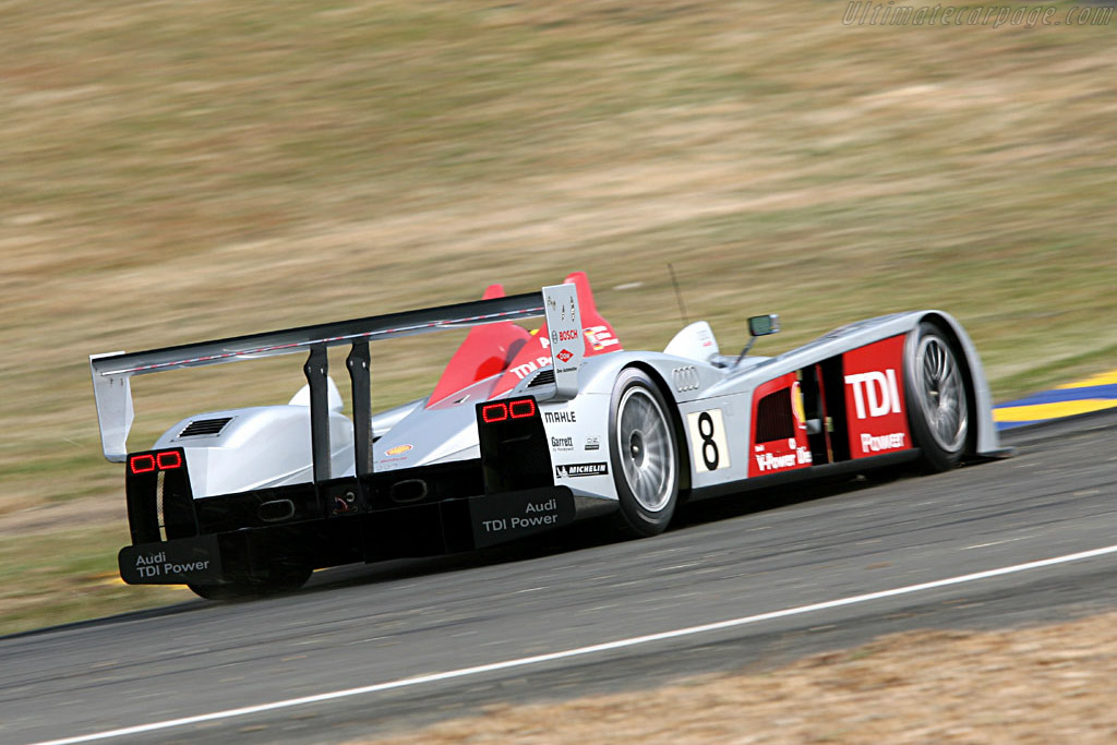 Audi R10 - Chassis: 102 - Entrant: Audi Sport Team Joest  - 2006 24 Hours of Le Mans Preview