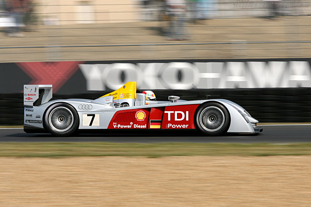 Audi R10 - Chassis: 103 - Entrant: Audi Sport Team Joest  - 2006 24 Hours of Le Mans Preview