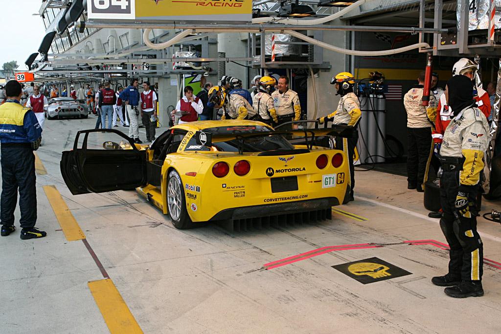 Chevrolet Corvette C6.R - Chassis: 004 - Entrant: Corvette Racing  - 2006 24 Hours of Le Mans Preview
