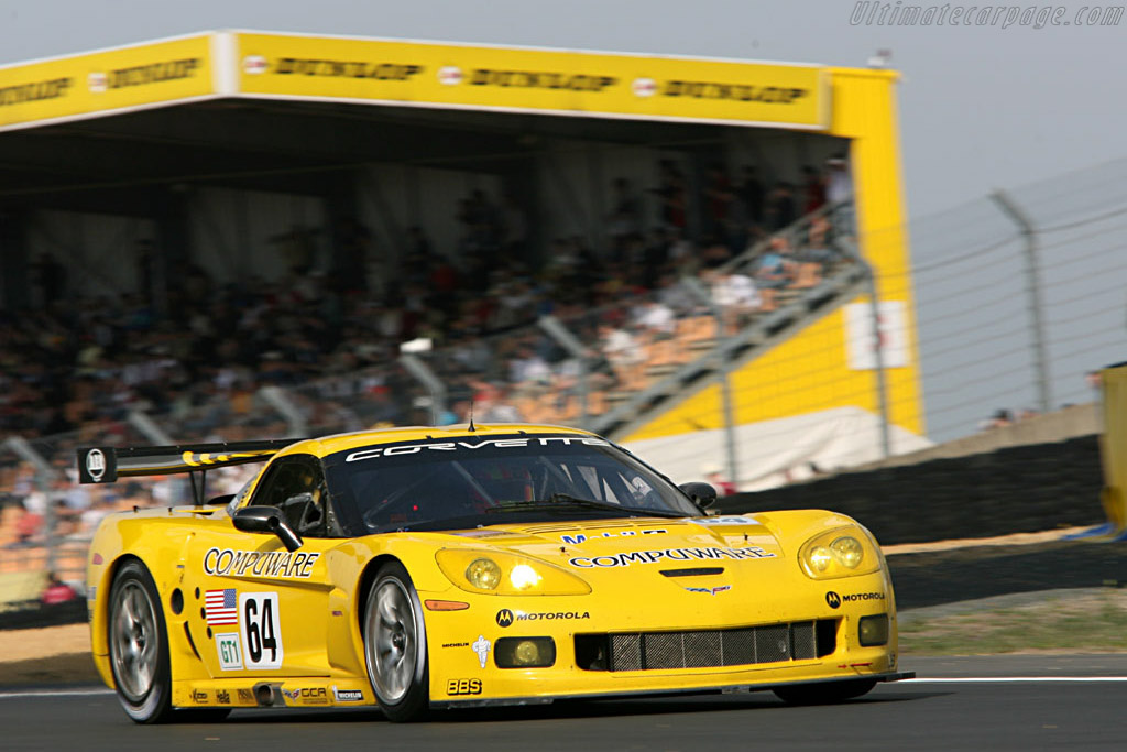 Chevrolet Corvette C6.R - Chassis: 004 - Entrant: Corvette Racing  - 2006 24 Hours of Le Mans Preview