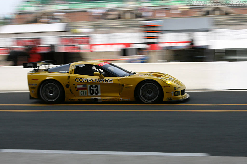 Chevrolet Corvette C6.R - Chassis: 003 - Entrant: Corvette Racing  - 2006 24 Hours of Le Mans Preview
