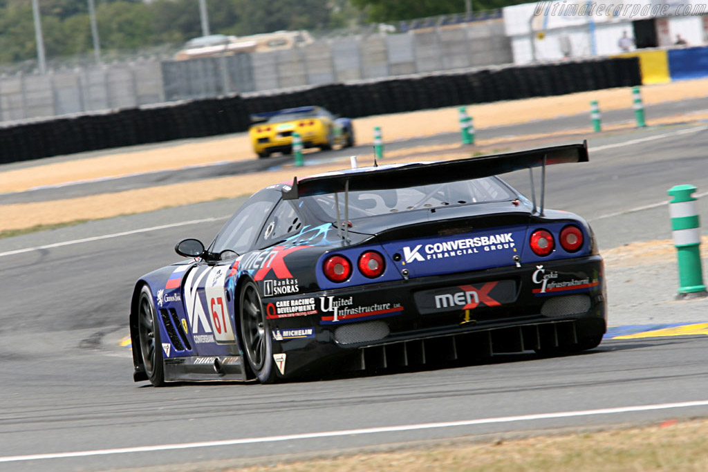 Ferrari 550 GTS Maranello - Chassis: 108391 - Entrant: Convers Menx Team  - 2006 24 Hours of Le Mans Preview