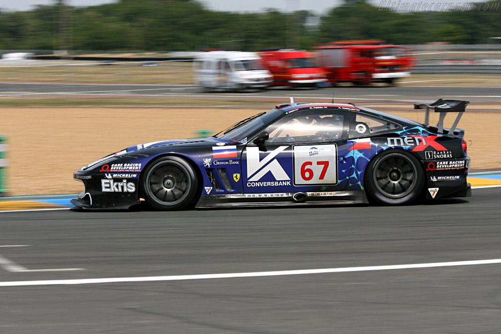 Ferrari 550 GTS Maranello - Chassis: 108391 - Entrant: Convers Menx Team  - 2006 24 Hours of Le Mans Preview