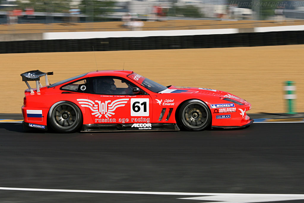 Ferrari 550 GTS Maranello - Chassis: 113136 - Entrant: Russian Age Racing  - 2006 24 Hours of Le Mans Preview