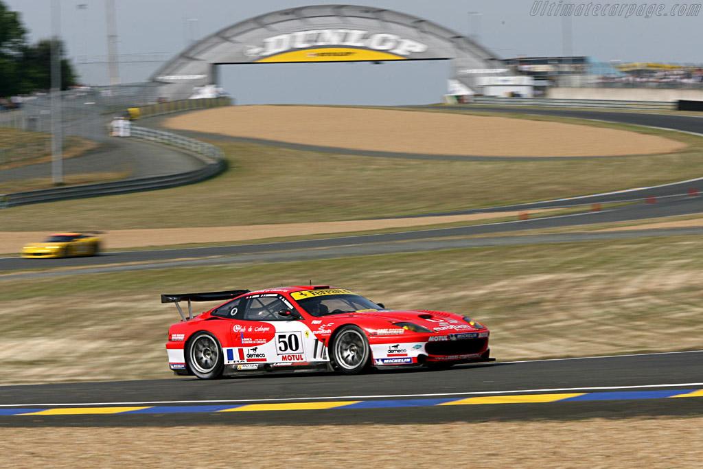 Ferrari 550 GTS Maranello - Chassis: 117110 - Entrant: Larbre Competition  - 2006 24 Hours of Le Mans Preview