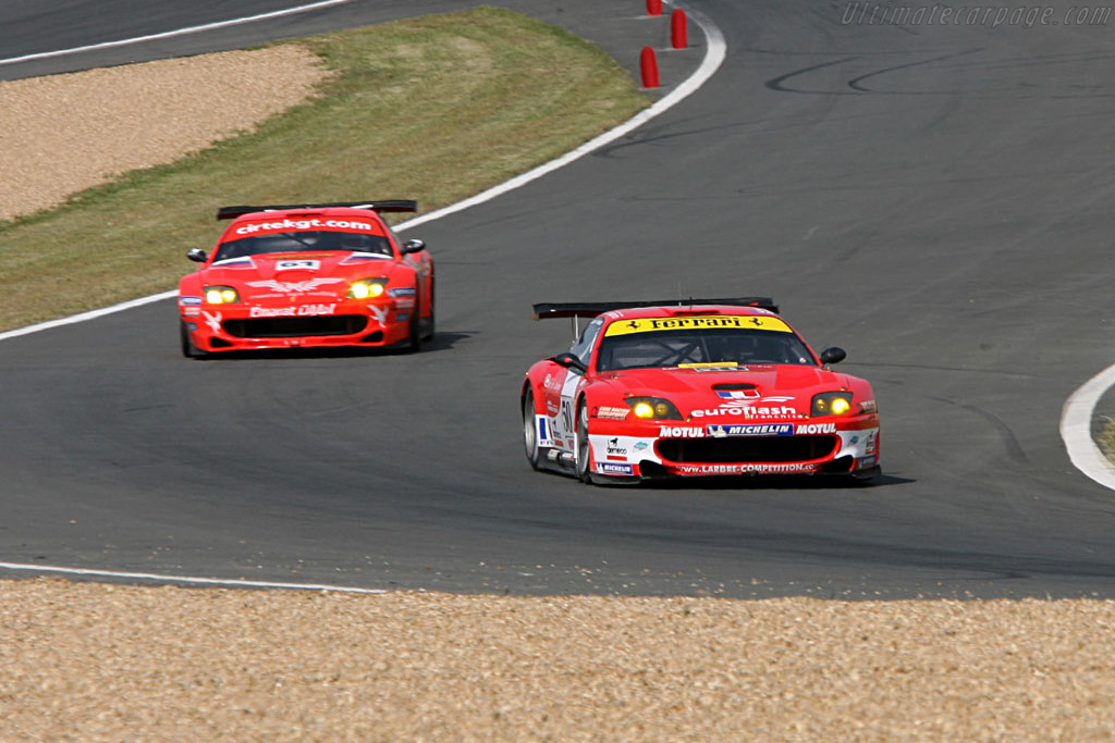 Ferrari 550 GTS Maranello - Chassis: 117110 - Entrant: Larbre Competition  - 2006 24 Hours of Le Mans Preview