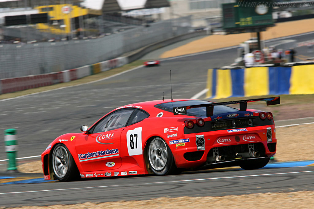 Ferrari F430 GTC - Chassis: 2418 - Entrant: Scuderia Ecosse  - 2006 24 Hours of Le Mans Preview