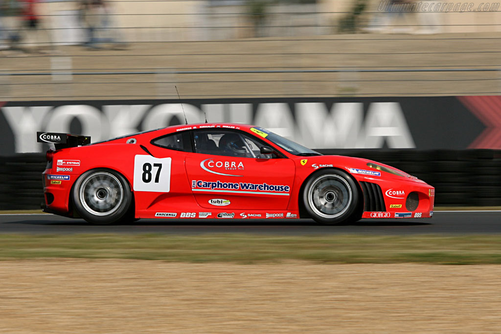Ferrari F430 Gtc 2006 24 Hours Of Le Mans Preview