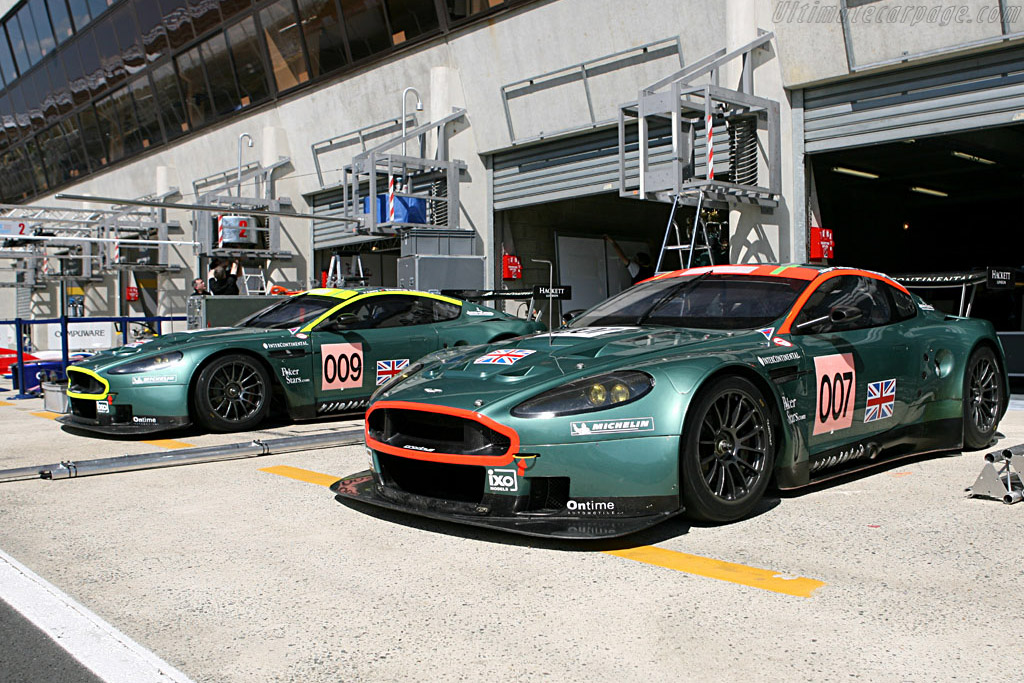 Her Majesty's Secret Service - Chassis: DBR9/3 - Entrant: Aston Martin Racing  - 2006 24 Hours of Le Mans Preview