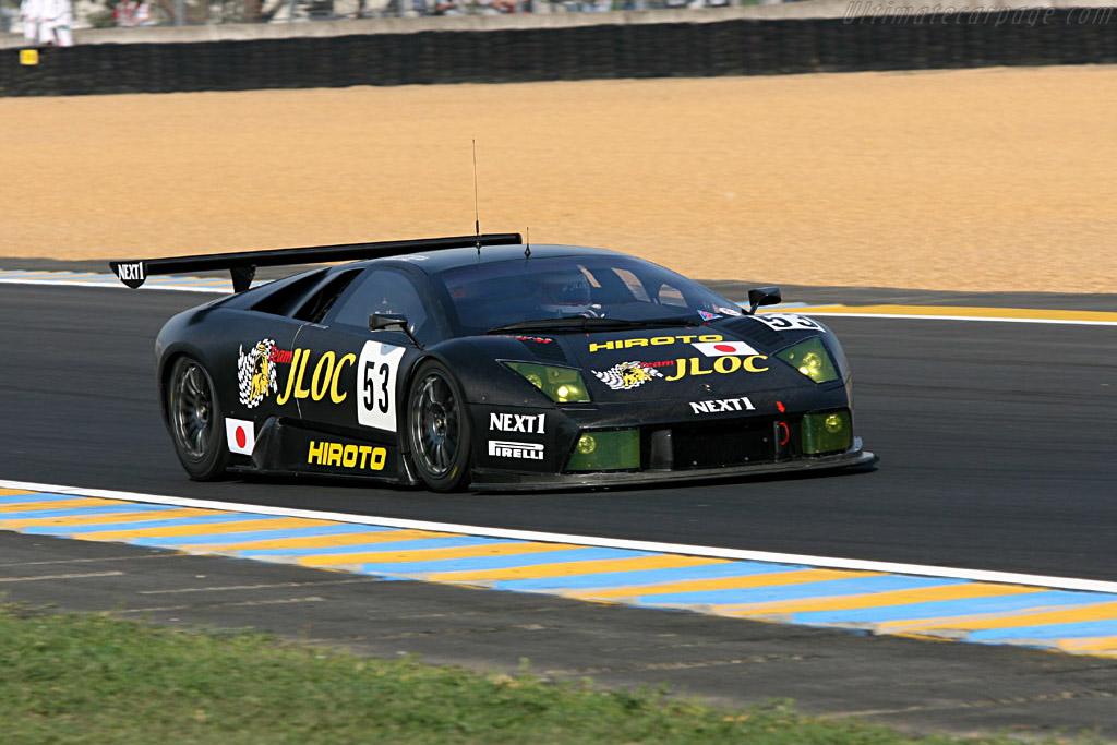 Lamborghini Murcielago R-GT - Chassis: LA01063 - Entrant: JLOC Isao Noritake  - 2006 24 Hours of Le Mans Preview