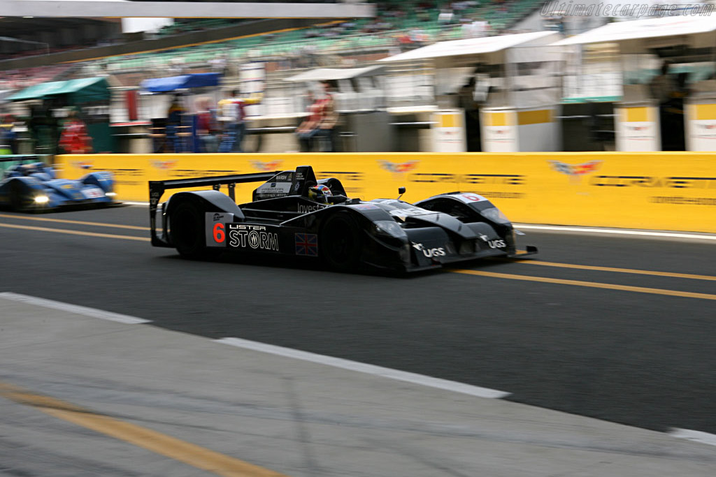 Lister Storm LMP Hybrid - Chassis: 001 - Entrant: Lister Storm Racing  - 2006 24 Hours of Le Mans Preview