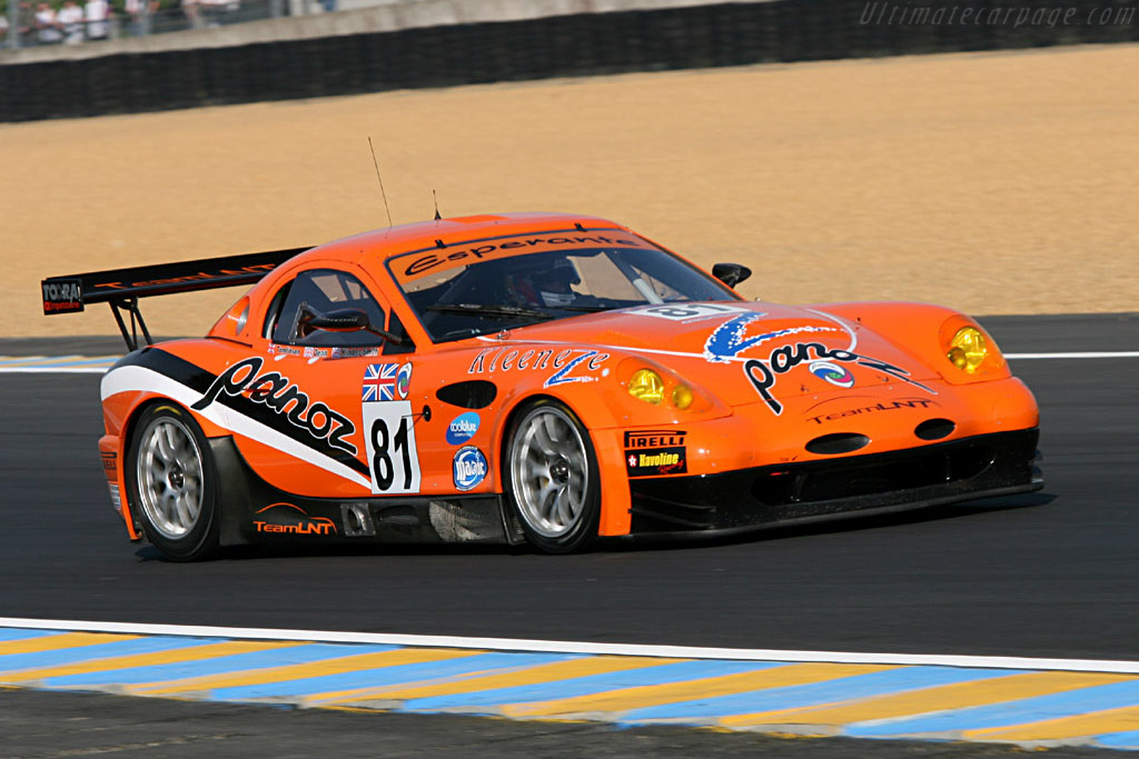 Panoz Esperante GT-LM - Chassis: EGTLM 006 - Entrant: Team LNT  - 2006 24 Hours of Le Mans Preview
