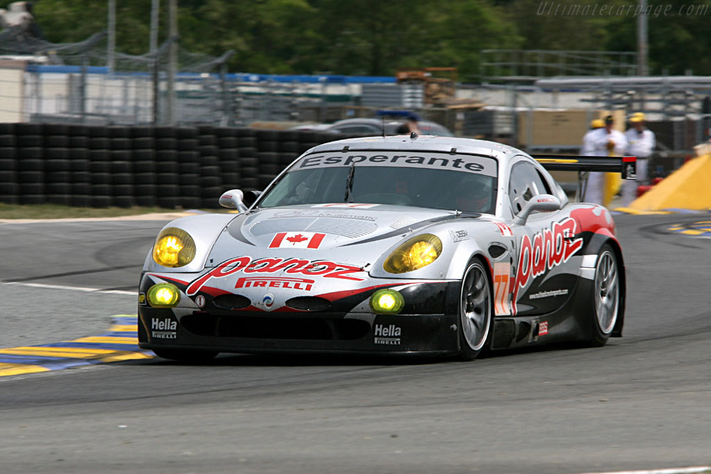 Panoz Esperante GT-LM - Chassis: EGTLM 003b - Entrant: Multimatic Motorsports - Team Panoz  - 2006 24 Hours of Le Mans Preview