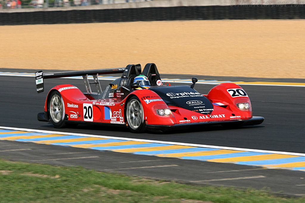 Pilbeam MP93 Judd - Chassis: 01 PB - Entrant: Bruneau Pierre  - 2006 24 Hours of Le Mans Preview