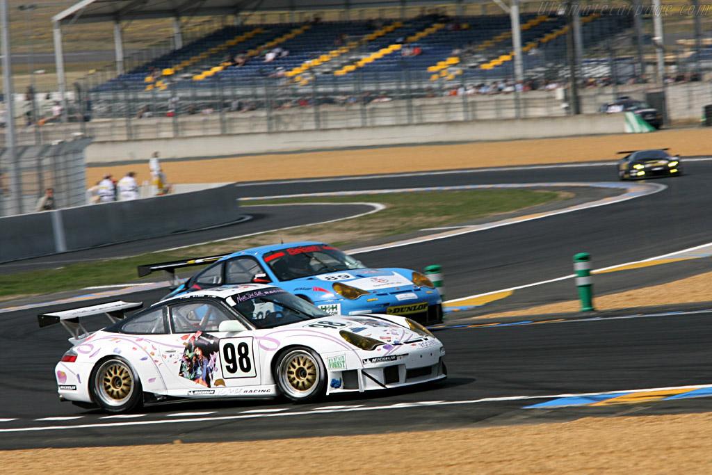 Porsche 996 GT3 RSR - Chassis: WP0ZZZ99Z4S693081 - Entrant: Noel del Bello  - 2006 24 Hours of Le Mans Preview