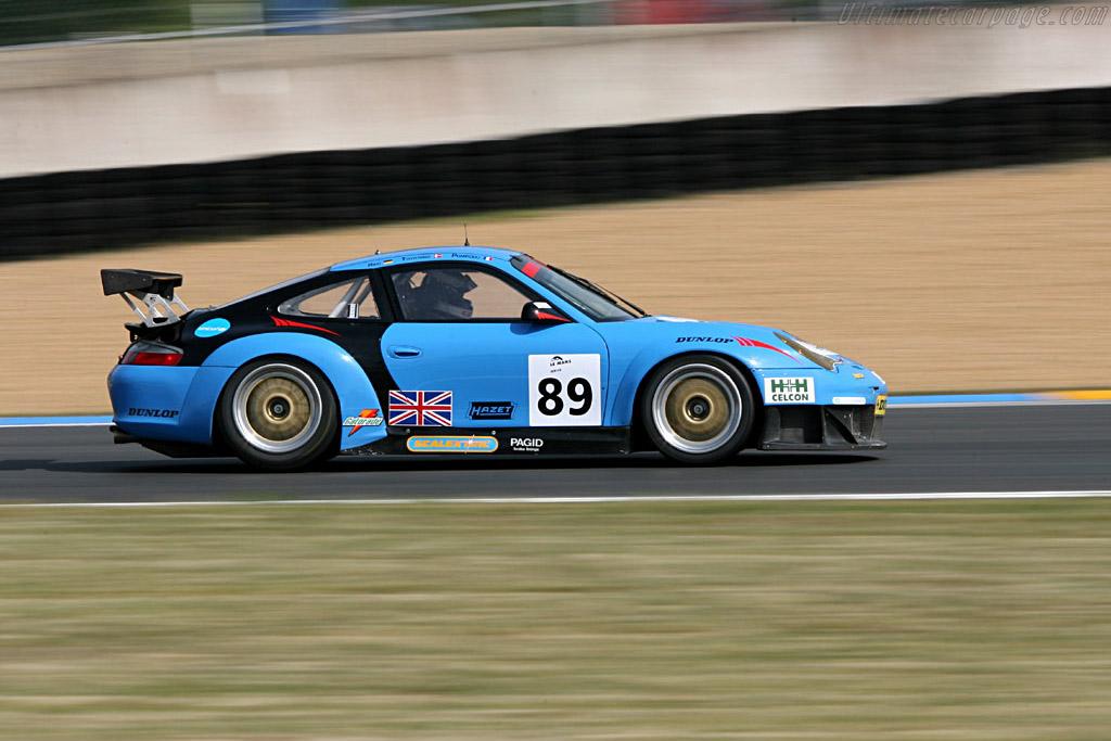 Porsche 996 GT3 RSR - Chassis: WP0ZZZ99Z4S693085 - Entrant: Sebah Automotive  - 2006 24 Hours of Le Mans Preview
