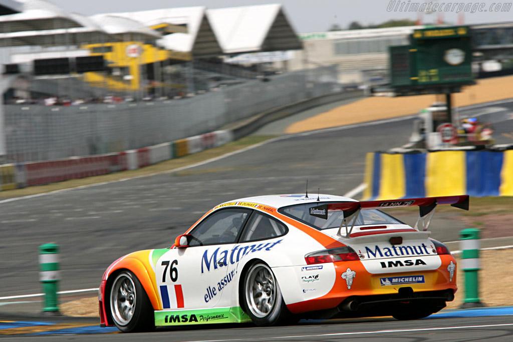 Porsche 996 GT3 RSR - Chassis: WP0ZZZ99Z4S693088 - Entrant: IMSA Performance Matmut  - 2006 24 Hours of Le Mans Preview