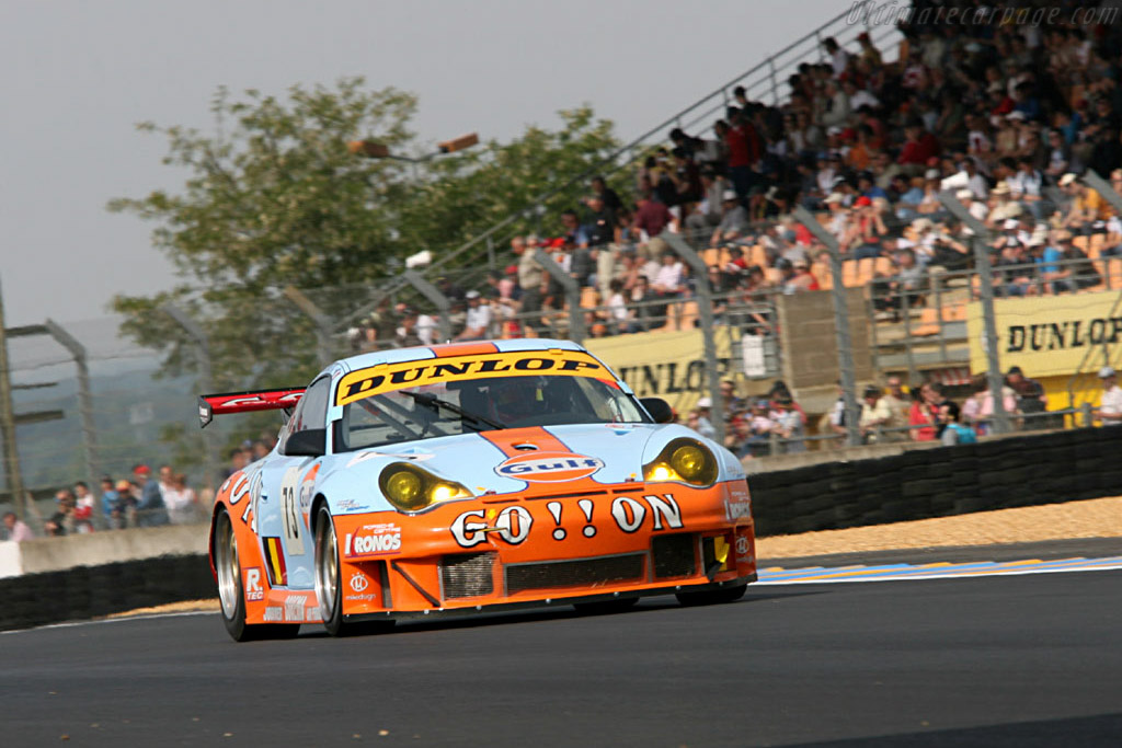 Porsche 996 GT3 RSR - Chassis: WP0ZZZ99Z5S693069 - Entrant: Gordon Racing Team  - 2006 24 Hours of Le Mans Preview