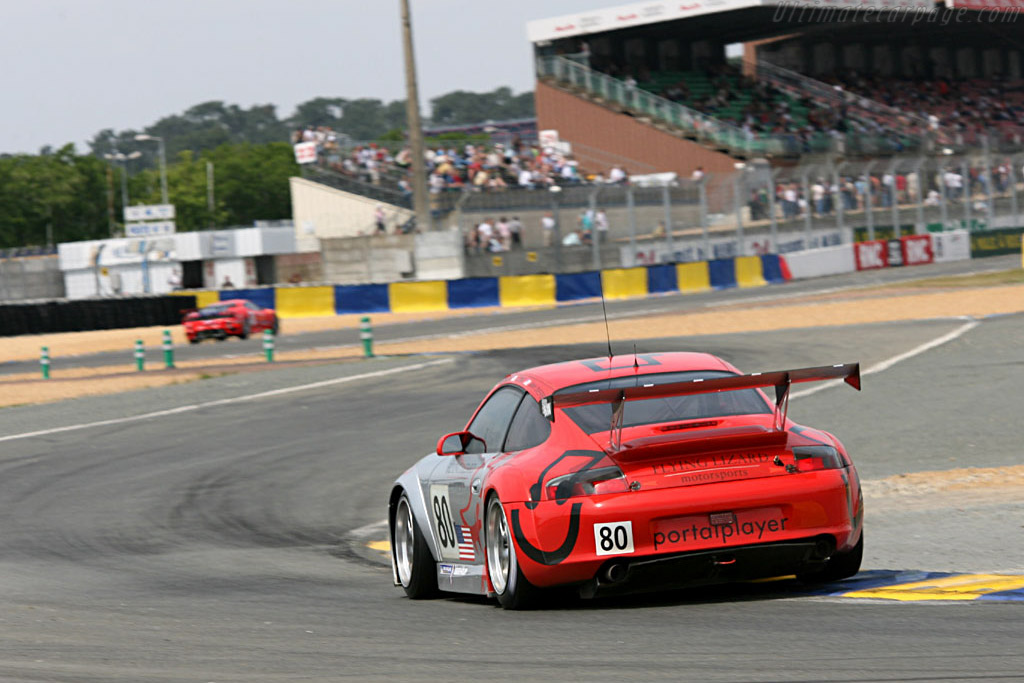 Porsche 996 GT3 RSR - Chassis: WP0ZZZ99Z5S693062 - Entrant: Flying Lizards Motorsport  - 2006 24 Hours of Le Mans Preview