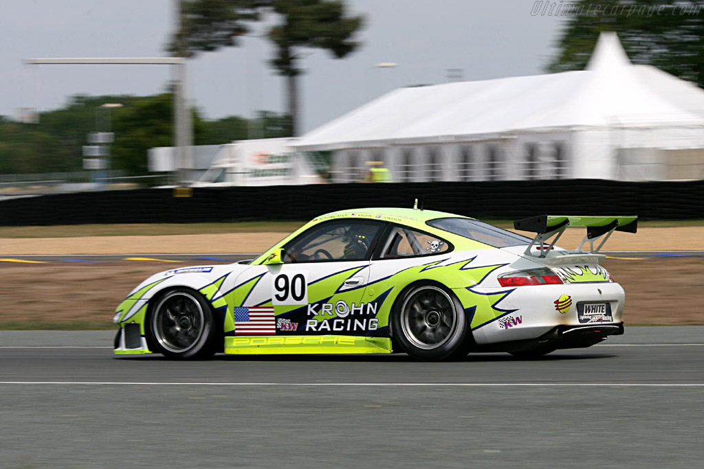 Porsche 996 GT3 RSR - Chassis: WP0ZZZ99Z4S693066b - Entrant: White Lightning Racing  - 2006 24 Hours of Le Mans Preview
