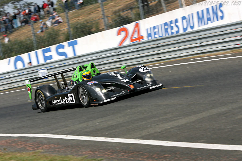 Radical SR9 Judd - Chassis: SR9001 - Entrant: Rollcentre Racing  - 2006 24 Hours of Le Mans Preview