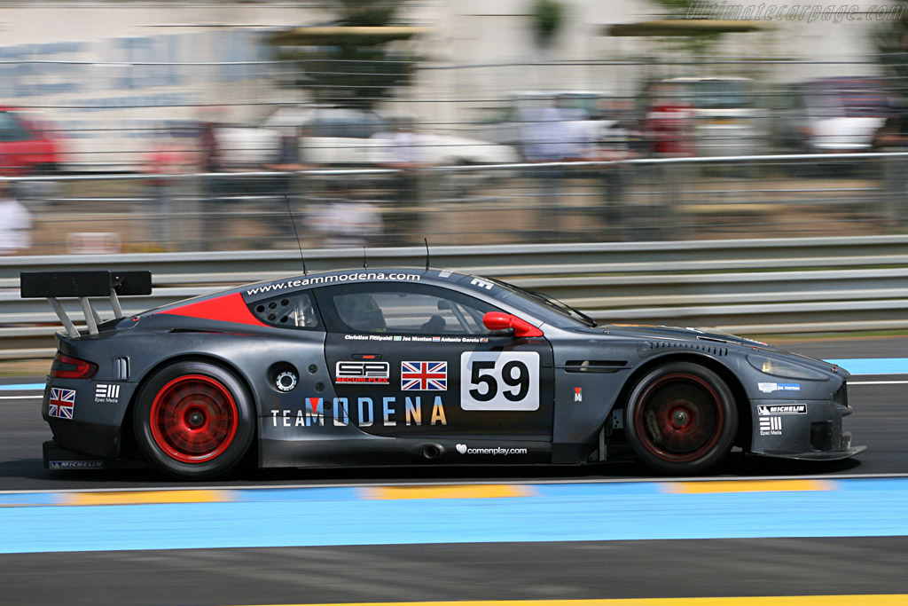 Aston Martin DBR9 - Chassis: DBR9/101 - Entrant: Team Modena  - 2007 24 Hours of Le Mans Preview