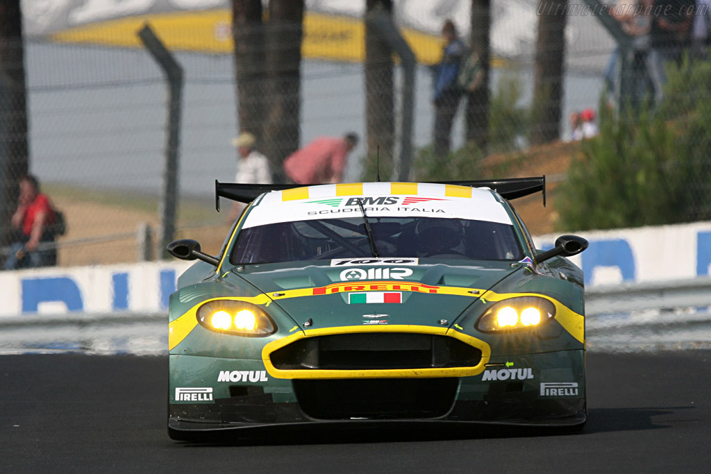 Aston Martin DBR9 - Chassis: DBR9/9 - Entrant: AMR BMS  - 2007 24 Hours of Le Mans Preview