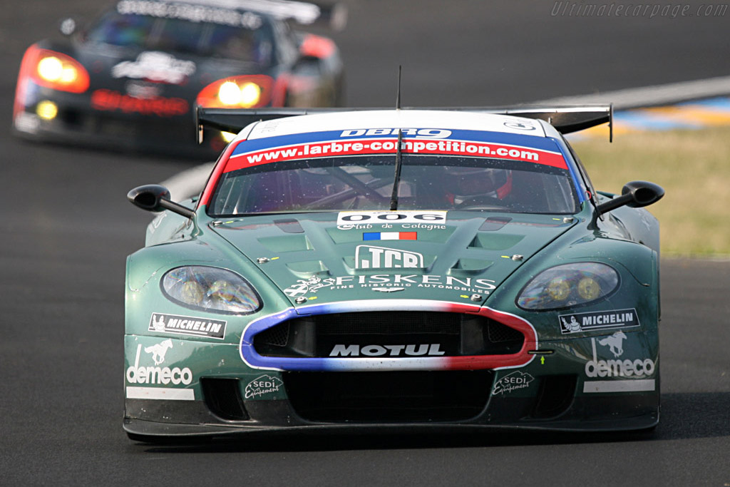 Aston Martin DBR9 - Chassis: DBR9/1 - Entrant: AMR Larbre  - 2007 24 Hours of Le Mans Preview