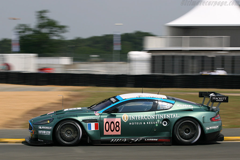 Aston Martin DBR9 - Chassis: DBR9/3 - Entrant: AMR Larbre  - 2007 24 Hours of Le Mans Preview