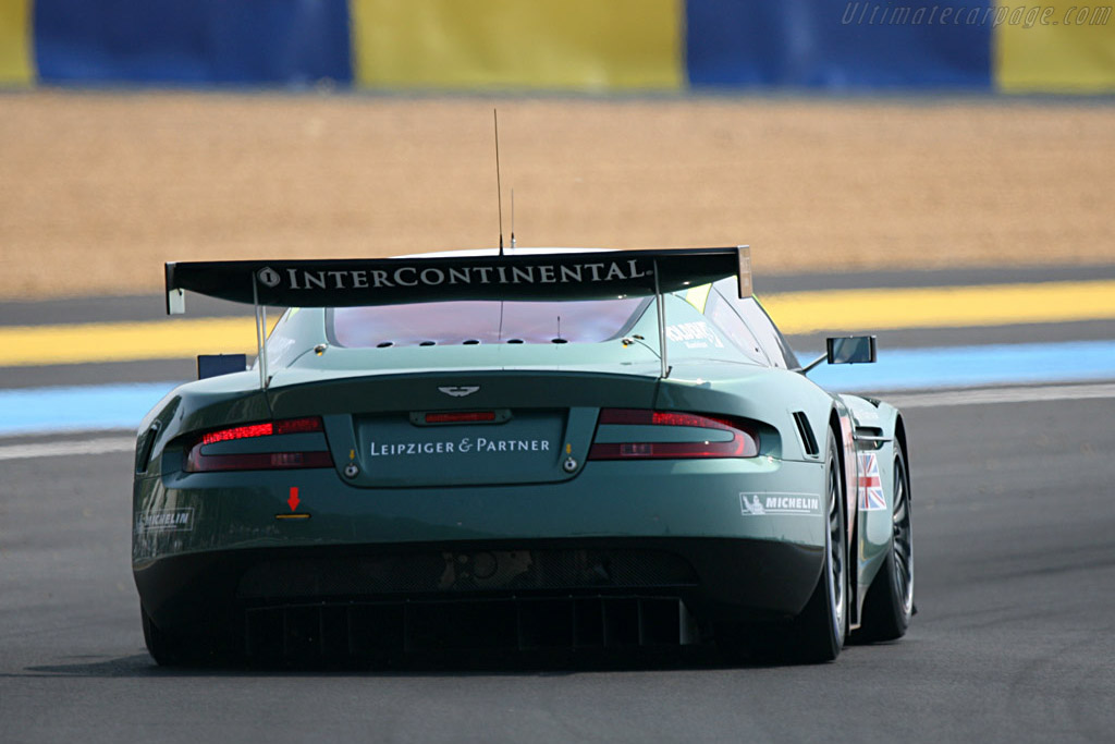 Aston Martin DBR9 - Chassis: DBR9/10 - Entrant: Aston Martin Racing  - 2007 24 Hours of Le Mans Preview