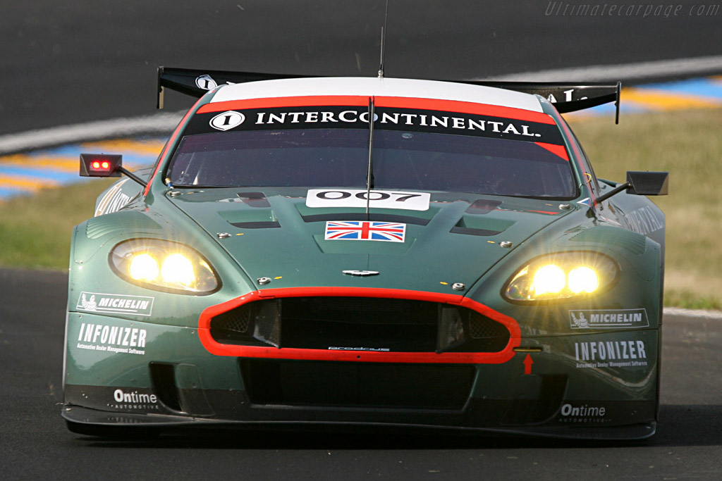 Aston Martin DBR9 - Chassis: DBR9/7 - Entrant: Aston Martin Racing  - 2007 24 Hours of Le Mans Preview