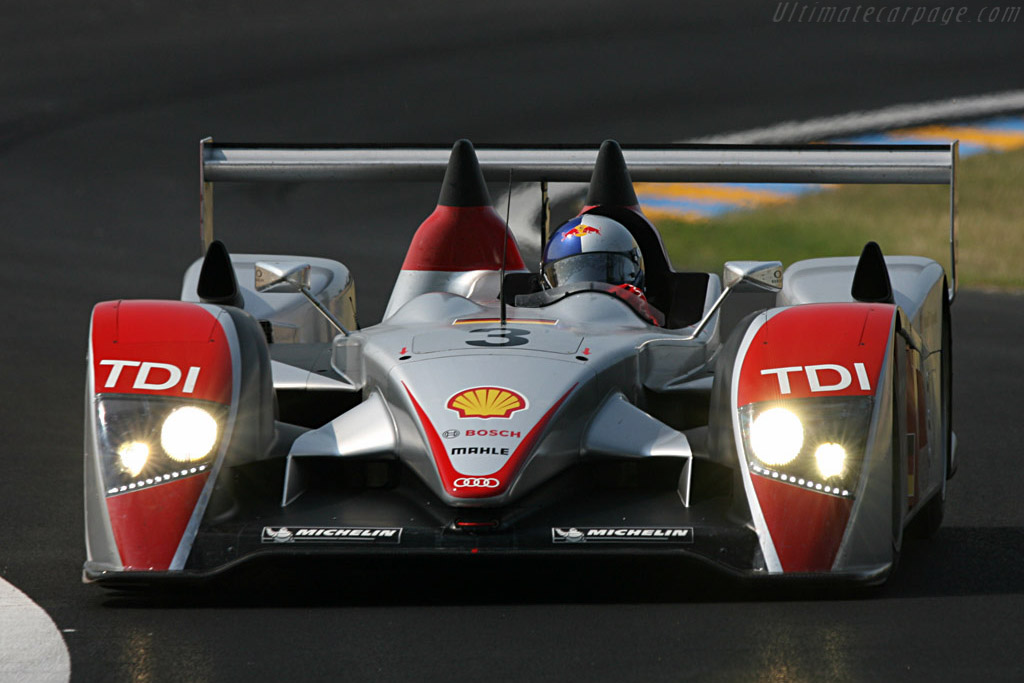 Audi R10 - Chassis: 203 - Entrant: Audi Sport Team Joest  - 2007 24 Hours of Le Mans Preview