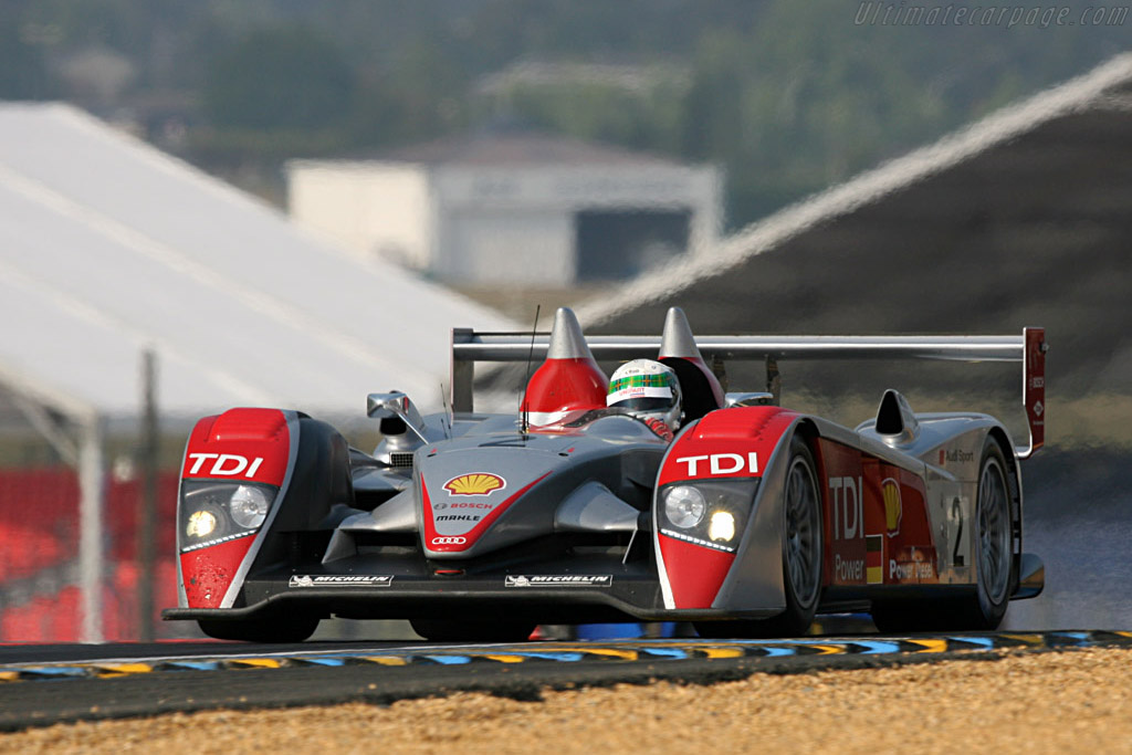 Audi R10 - Chassis: 204 - Entrant: Audi Sport North America  - 2007 24 Hours of Le Mans Preview