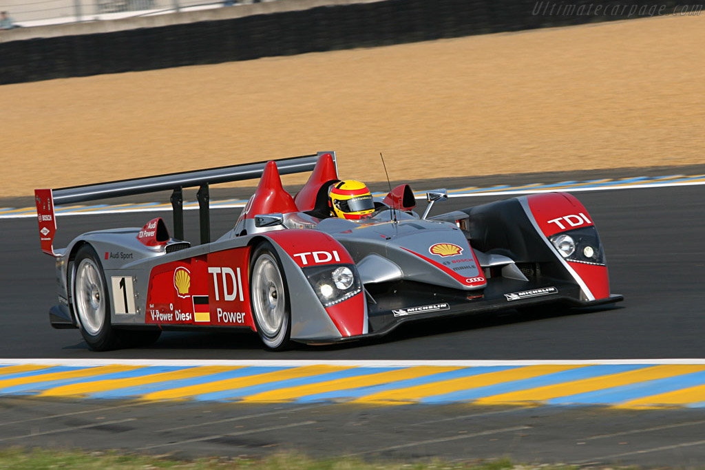Audi R10 - Chassis: 202 - Entrant: Audi Sport North America  - 2007 24 Hours of Le Mans Preview