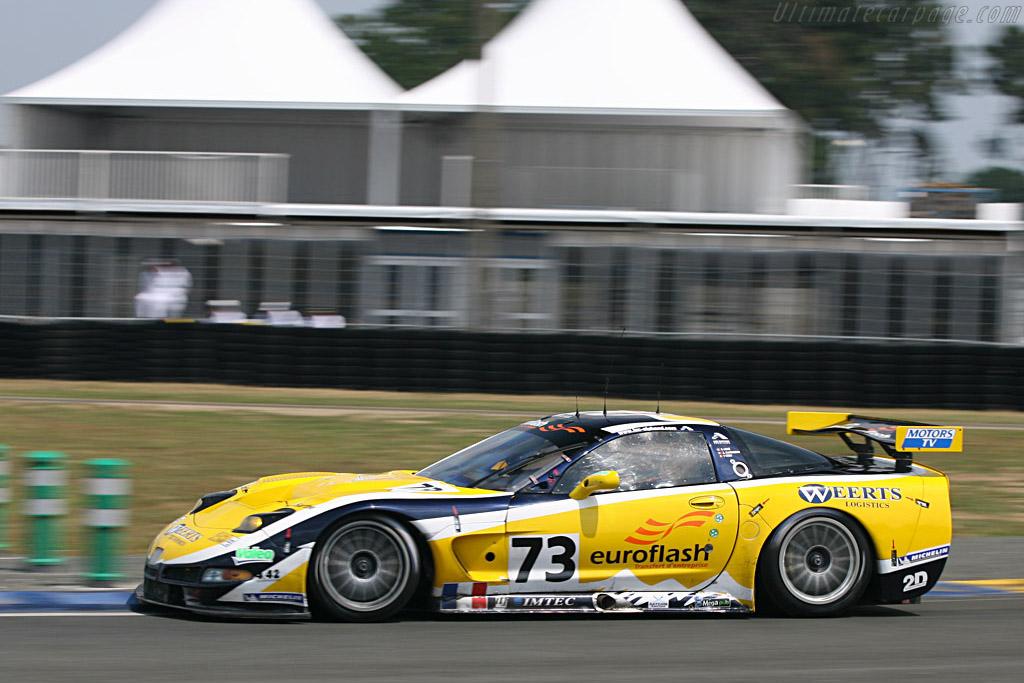 Chevrolet Corvette C5-R - Chassis: 010 - Entrant: Luc Alphand Adventures  - 2007 24 Hours of Le Mans Preview