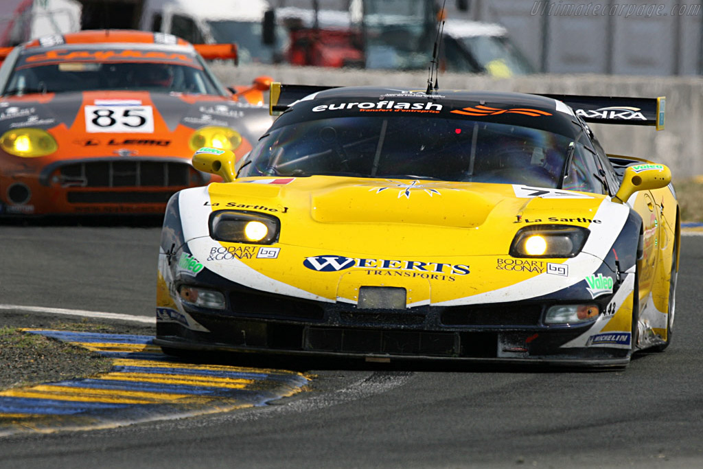 Chevrolet Corvette C5-R - Chassis: 010 - Entrant: Luc Alphand Adventures  - 2007 24 Hours of Le Mans Preview