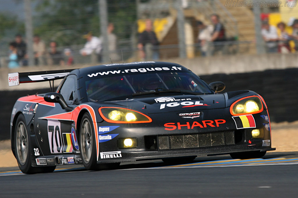 Chevrolet Corvette C6.R - Chassis: 002 - Entrant: PSI Experience  - 2007 24 Hours of Le Mans Preview