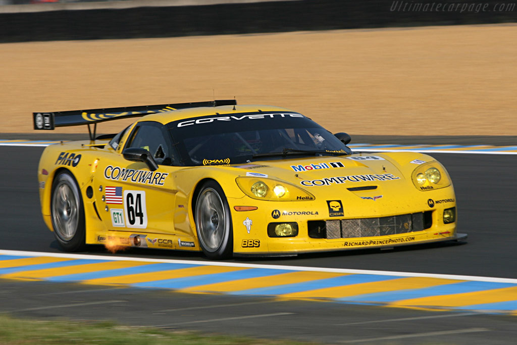 Chevrolet Corvette C6.R - Chassis: 006 - Entrant: Corvette Racing  - 2007 24 Hours of Le Mans Preview