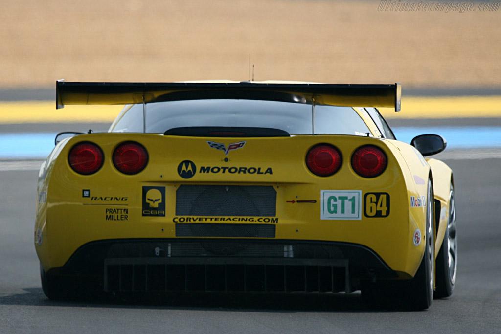 Chevrolet Corvette C6.R - Chassis: 006 - Entrant: Corvette Racing  - 2007 24 Hours of Le Mans Preview