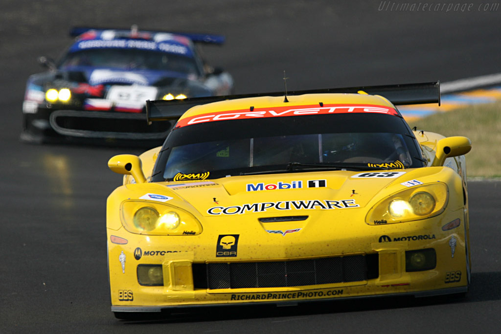 Chevrolet Corvette C6.R - Chassis: 005 - Entrant: Corvette Racing  - 2007 24 Hours of Le Mans Preview