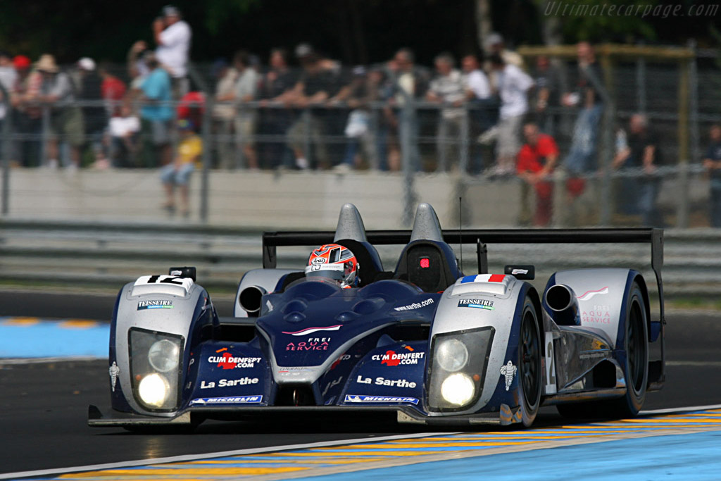 Courage LC70 AER - Chassis: LC70-3 - Entrant: Courage Competition  - 2007 24 Hours of Le Mans Preview