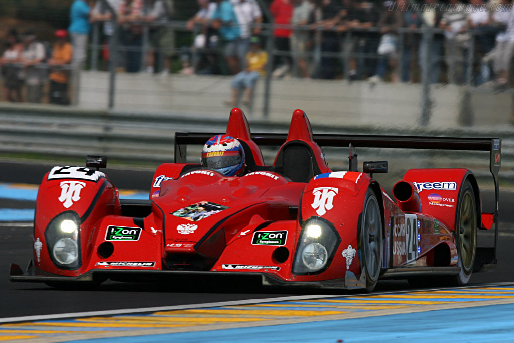 Courage LC75 AER - Chassis: LC70-1 - Entrant: Noel Del Bello Racing  - 2007 24 Hours of Le Mans Preview