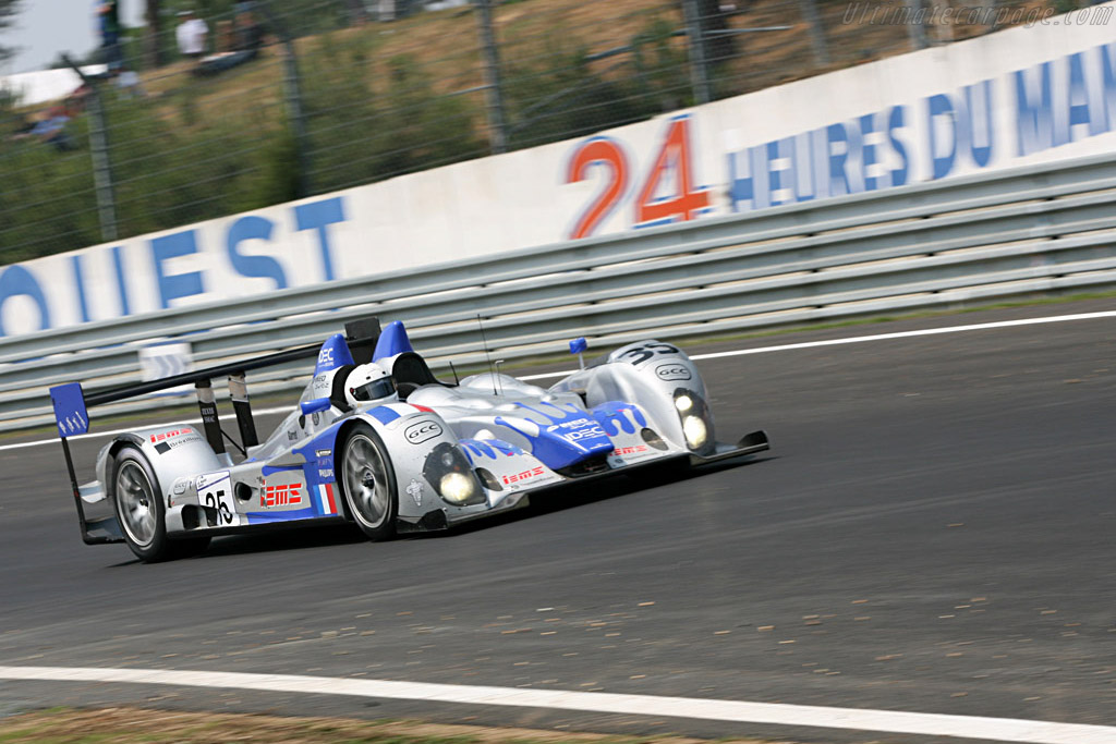 Courage LC75 AER - Chassis: LC70-2 - Entrant: Saulnier Racing  - 2007 24 Hours of Le Mans Preview