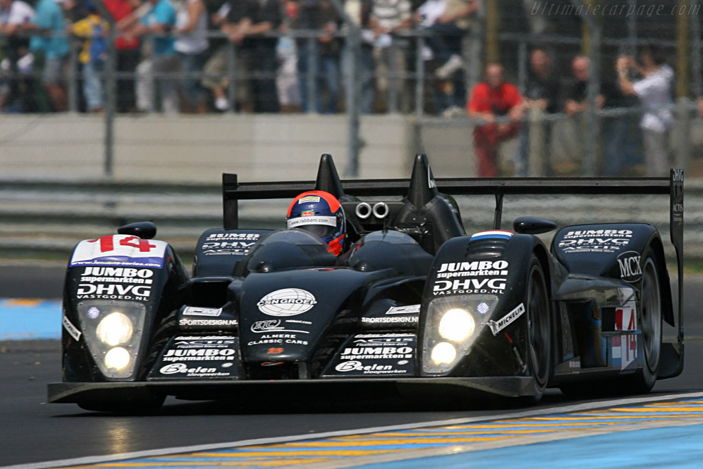 Dome S101.5 Judd - Chassis: S101.5-02 - Entrant: Racing for Holland - Driver: Jan Lammers / David Hart / Jeroen Bleekemolen  - 2007 24 Hours of Le Mans Preview