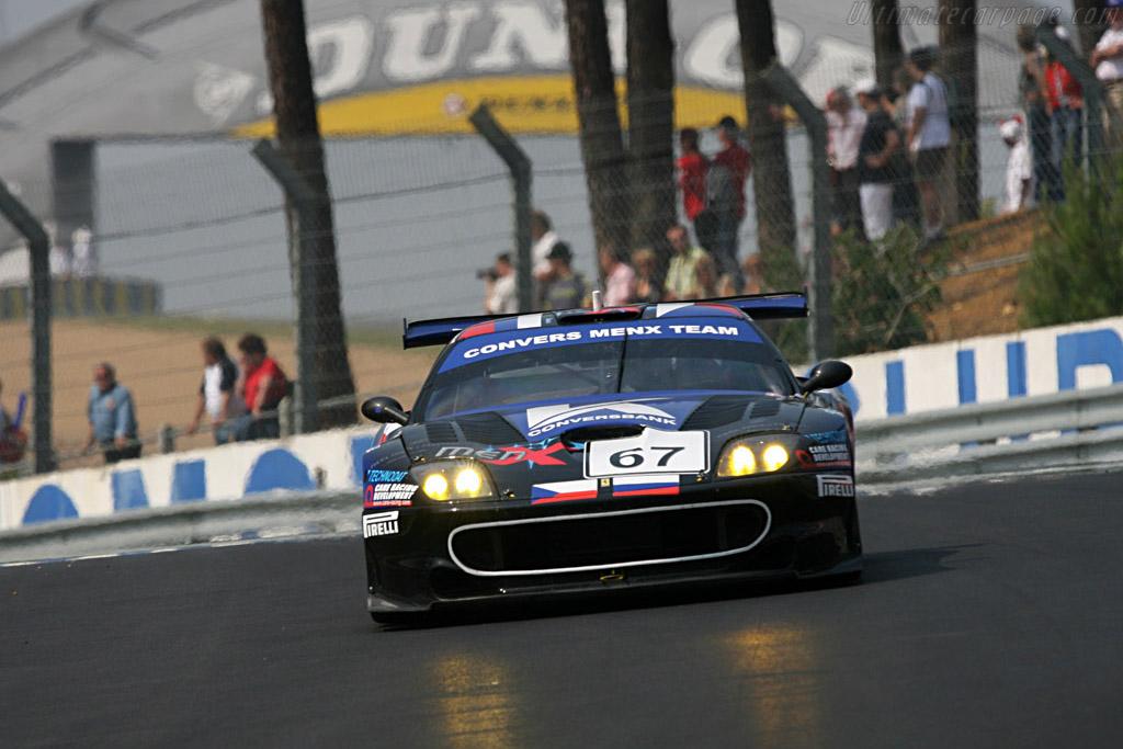Ferrari 550 Maranello - Chassis: 108391 - Entrant: Convers Menx Team  - 2007 24 Hours of Le Mans Preview