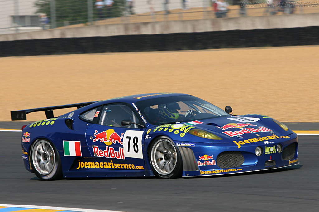Ferrari F430 GTC - Chassis: 2466 - Entrant: AF Corse  - 2007 24 Hours of Le Mans Preview