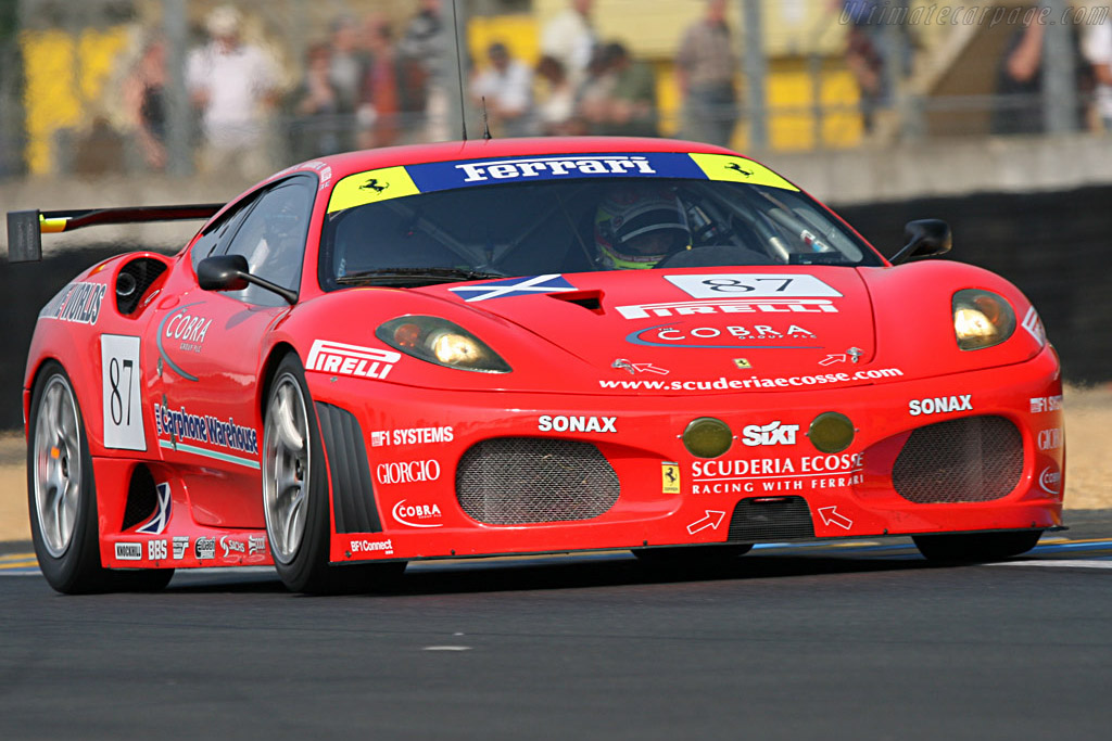Ferrari F430 GTC - Chassis: 2418 - Entrant: Scuderia Ecosse  - 2007 24 Hours of Le Mans Preview